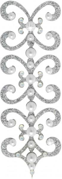 Florence 9 Silber-Perle 1016045DE Körperschmuck Swarovski Crystal Perle