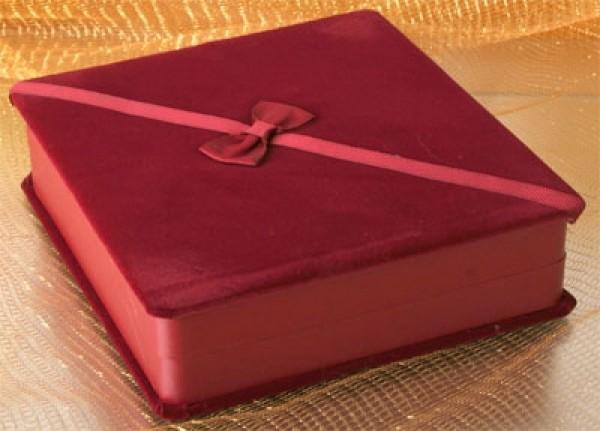 Geschenkbox Bordeaux f