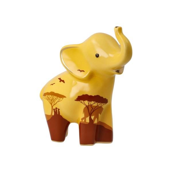 ED P Mukkoka 15,5 sand grün Elephant Goebel 70000951