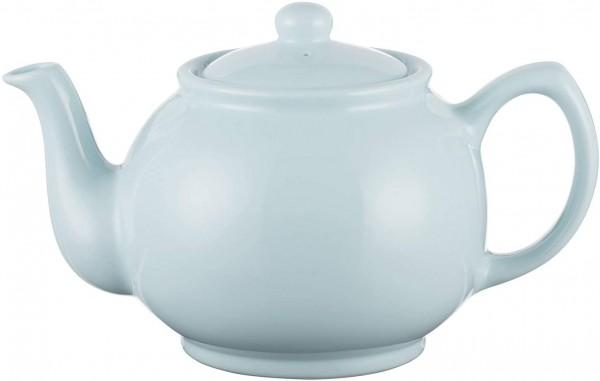 Price & Kensington - Teekanne - Farbe: pastellblau / hellblau - Inhalt: 6 Tassen- klassische englisc