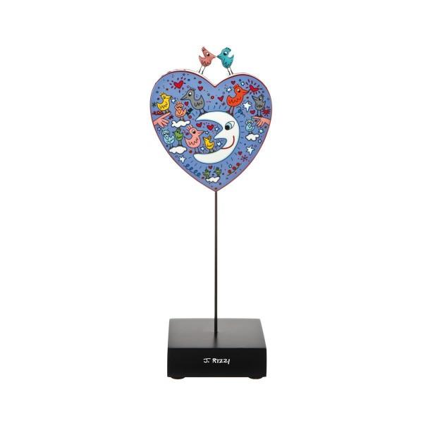 Goebel Birds Love the Moon - James Rizzi Figur 26102321