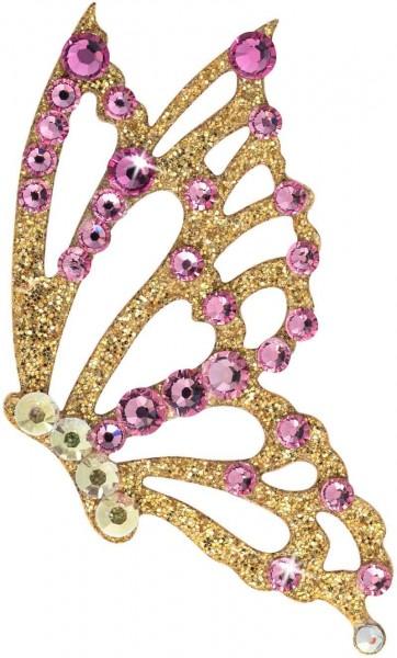 Freedom 1 Gold-Rosa 1016005DE Körperschmuck Swarovksi Crystal Pink