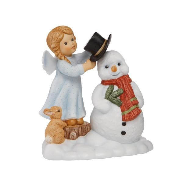 "Goebel Nina & Marco ""Frostys Schutzengel"" 11750501 mit Swarovski® Kristallen"