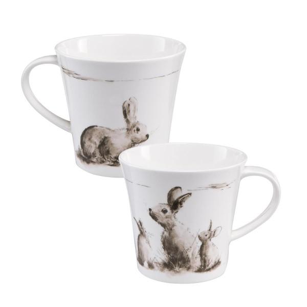 Kleiner Ausflug - Coffee-/Tea Mug schwarz-weiß Peter Schnellhardt Goebel 26500091