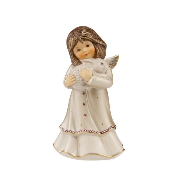 Goebel Engel Weihnachten Jahresfarbe Pearly Gleam 'Kuschelfreund' 41621631