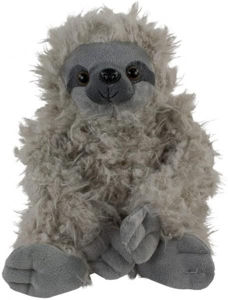 Inware 9231 - Kuscheltier Faultier Fauli, grau, 28 cm