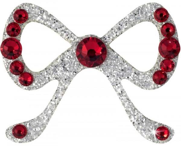 Elegance 6 Silber-Rot 10116079DE Körperschmuck Swarovski Crystal Red