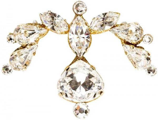 Scarlett Gold-Kristall 1016019DE Körperschmuck Swarovski Crystal